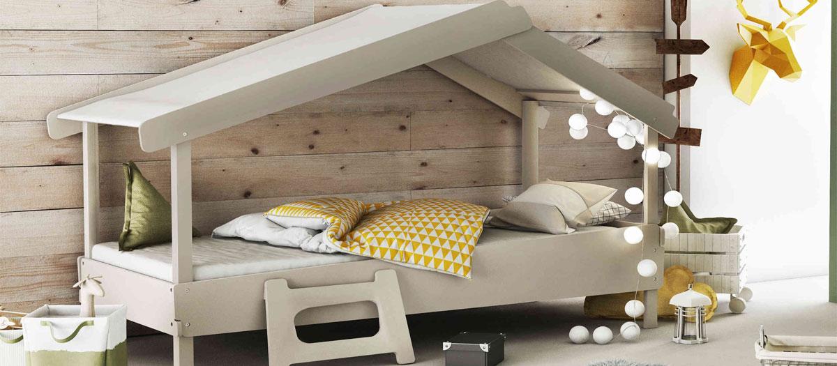 achat lit-cabane