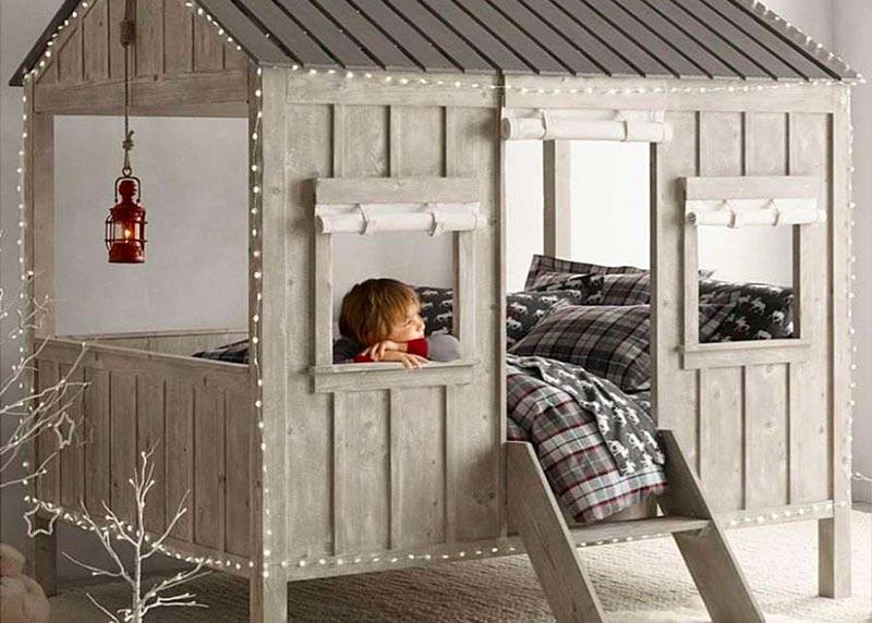 quel ge pour un lit cabane conseils de la r daction. Black Bedroom Furniture Sets. Home Design Ideas
