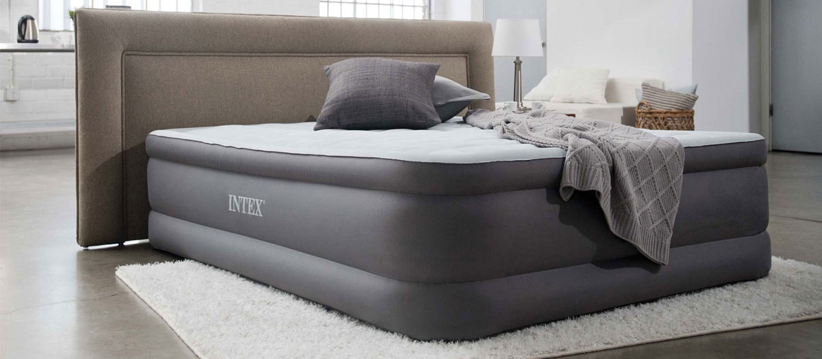 test matelas gonflable