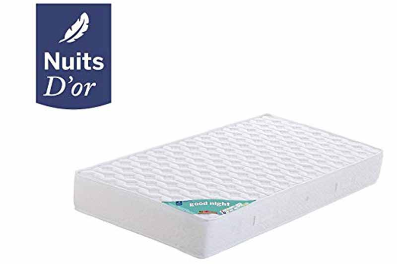 matelas good night nuit d'or avis