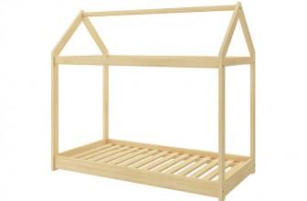 ACMA Pine Naturel 160×80 : limitez vos dépenses en offrant un lit cabane à votre enfant