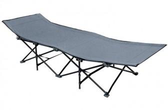Amanka 10 Pieds Gris : le lit de camp idéal pour les voyages