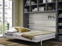 Meubles ROS Chêne/Gris Ardoise : le lit escamotable pratique et confortable