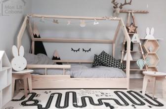 Monlitcabane H : le lit cabane qui combine confort, design et amusement