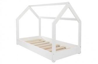 Velinda Lit Maison 2 en 1 Blanc : un lit cabane design pour la chambre de votre enfant