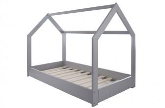Velinda Lit Maison 2 en 1 gris : les bonnes raisons d'offrir ce lit cabane à votre enfant